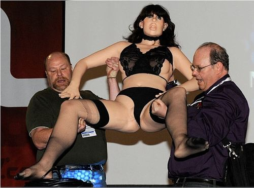 At a demonstration at the Adult Entertainment Expo in Las Vegas on Saturday, ...