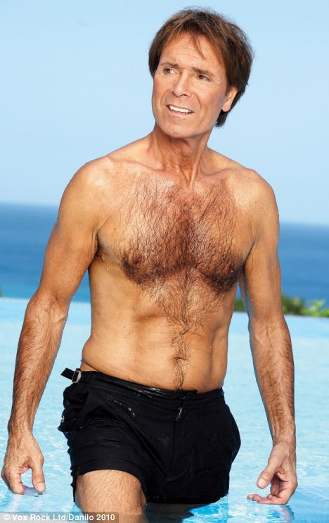 Cliff richard..pushing 70