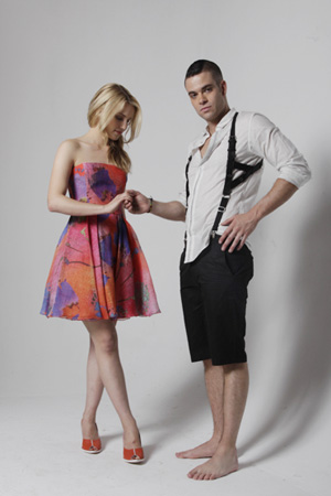 dianna agron mark salling photoshoot