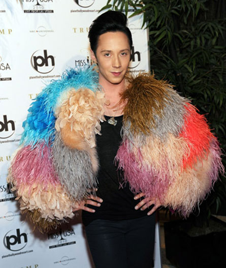johnny weir gay. JOHNNY WEIR should have been